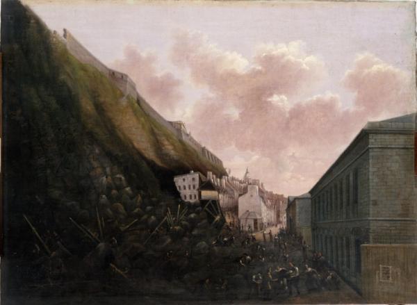 1841 Eboulis au Cap Diamant low res