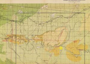 Saskatchewan Cypress Hills map thumbnail