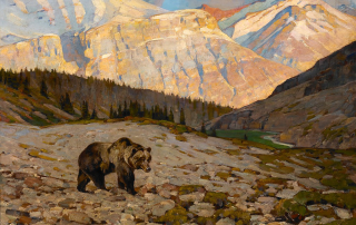 rungius_1869-1959_grizzly_bear_oil_on_canvas_30