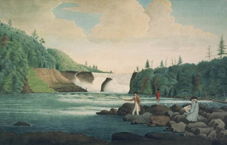 Davies Thomas 1787 A View of the Falls of Chaudiere near Quebec