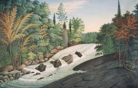 Davies Thomas 1789 A View on the River La Puce near Quebec